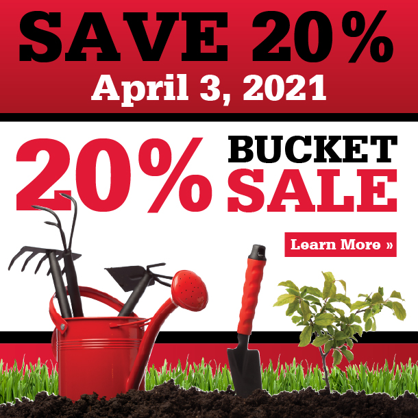 Save 20% on April 3, 2021